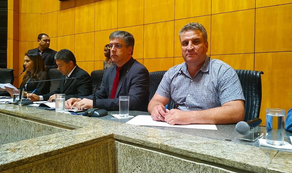 Pedro Pão participa de reunião da Comissão de Agricultura da ALES