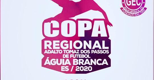 COPA REGIONAL É ADIADA DEVIDO AO CORONAVÍRUS