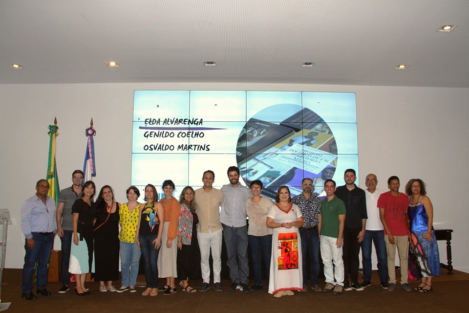 Secult realiza lançamento coletivo de livros contemplados em Edital de literatura