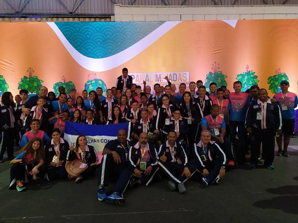 Cerimônia de abertura marca início das Paralimpíadas Escolares, em São Paulo