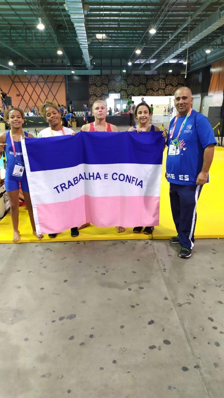 Atletas capixabas conquistam três medalhas no primeiro dia dos Jogos Escolares da Juventude