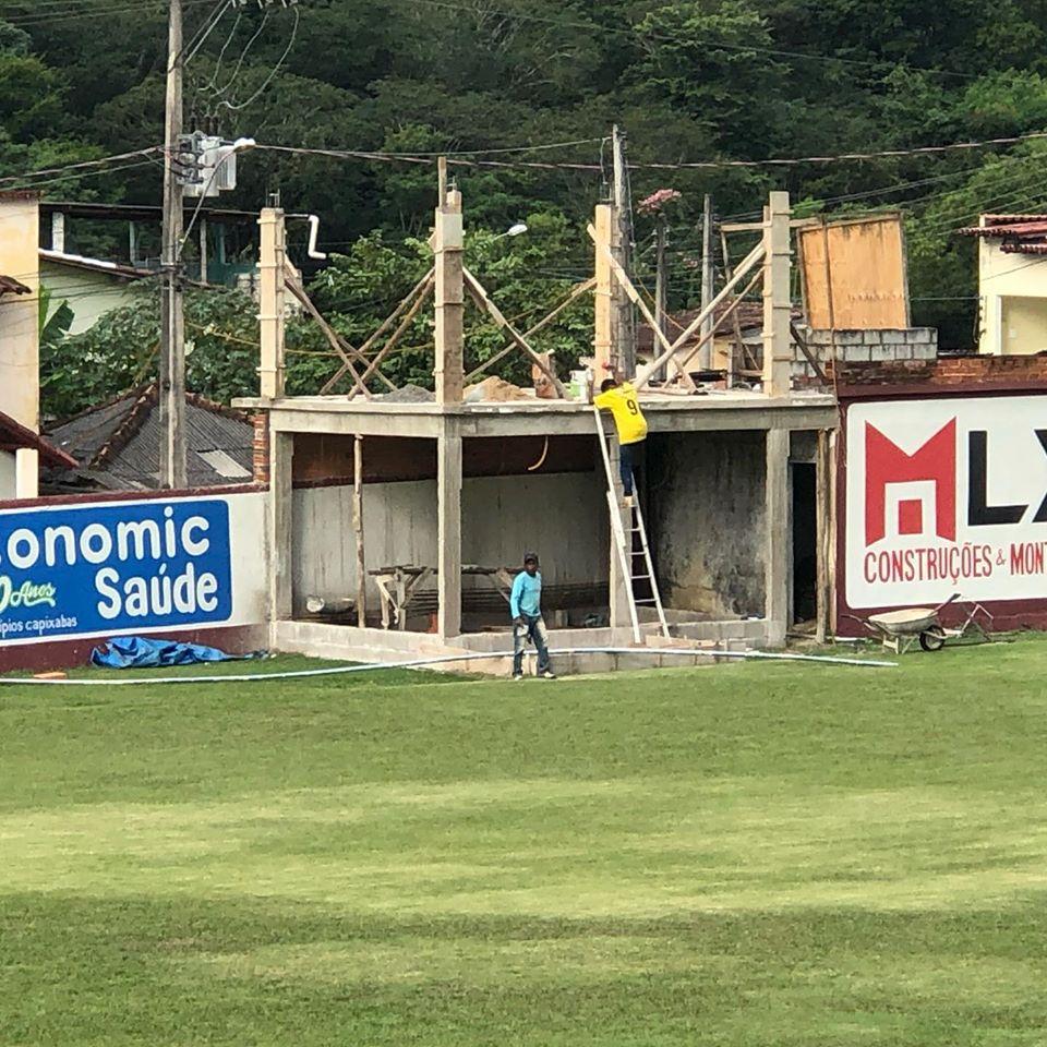 GUARANY: Diretoria retoma obras no Estádio